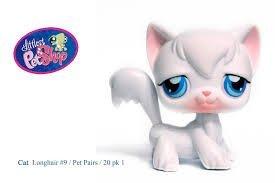 Amazoncom Littlest Pet Shop Cat White 9 Everything Else