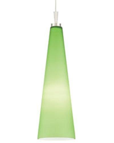 Juno Alfa Lighting P95MPG-BRZ-LIM Art Glass Long Cone Hal...