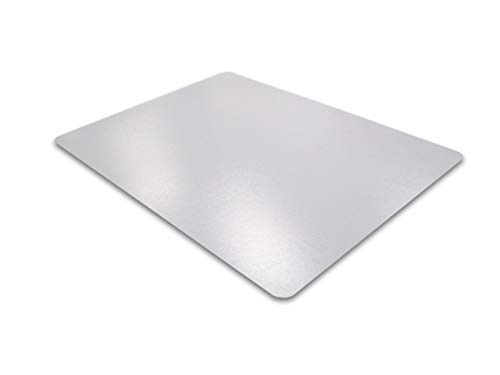 (Cleartex Ultimat Chair Mat, Clear Polycarbonate, for Hard Floors, Rectangular, 35