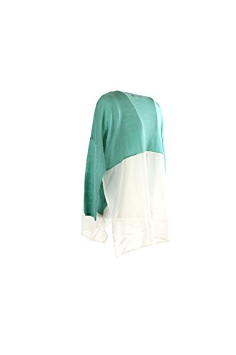 Maglia Donna Verysimple II Verde Vp16-304av Primavera Estate 2016