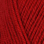 Plymouth Encore Worsted Yarn - Plymouth Encore Worsted Yarn Regal Red 9601