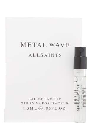 ALLSAINTS Metal Wave Eau De Parfum Spray Sample 0.05 fl oz / 1.5 ml from ALLSAINTS