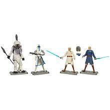 Star Wars The Clone Wars Battle Packs Battle of Orto Plutoni Figure 4-Pack 4 Inches ()