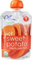 Plum Organics Organic Baby Food Just Sweet Potato -- 3 oz by Plum Organics