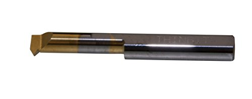 THINBIT TT51CRC TiN Coated Solid Carbide Threading Tool, 9 to 56 threads per inch, 0.312