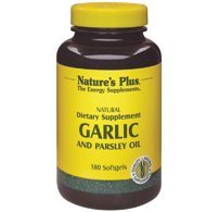 (Garlic and Parsley Oil, 180 Softgels by Nature's Plus)