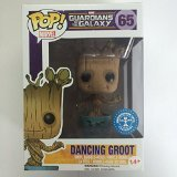 Funko Marvel Guardians of the Galaxy POP! Marvel Dancing Groot Exclusive Vinyl Bobble Head #65 [Blue Pot]