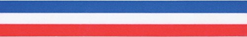 Tri-Stripe Ribbon 7/8X50yd-Red, White & Blue Pack Of ()