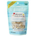 Yummy Earth Organic Candy Drops Wild Peppermint 3.30 oz. bags (approximately 30 count)