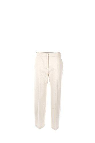 Pantalone Donna Maxmara S Bianco Uruguay Primavera Estate 2017