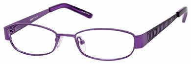 Seventeen 5363 Purple Designer Reading Glass Frames , Demo Lens