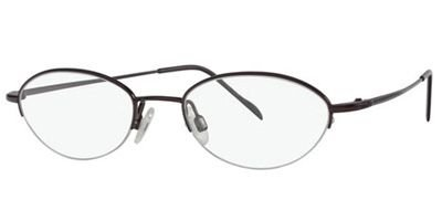 Flexon Flx 883Mag-Set Eyeglasses 604 Burgundy Demo 46 18 135 ()