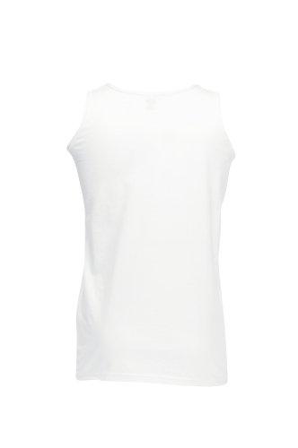 Muskelshirt 'Value Weight Athletic', Farbe:White;Größe:XXL XXL,White