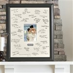 Personalized Signature Frame w/Plate