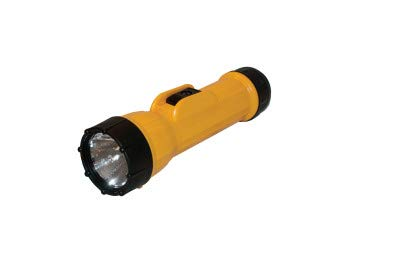 Bright Star 2D Cell LED Industrial Flash Light – Long Battery Life, Waterproof, Shock Resistant. Genuine Emergency Torch Light
