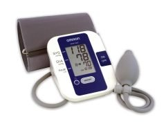 Blood Pressure Monitoring - Taking your blood pressure is easy with this lightweight and convenient monitor. Simply wrap the cuff around your arm and squeeze the bulb to begin inflation. In seconds, your blood pressure and pulse readings are displayed on