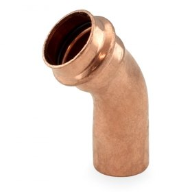 "1"" Press Copper 45° Street Elbow - Pack of 5"