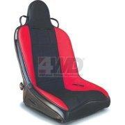 MasterCraft Safety 523102 Rubicon Black Seat with Fixed Headrest - Mastercraft Rubicon Seats