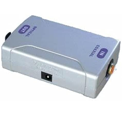 Aptii - Adaptador de coaxial a óptico TOSlink: Amazon.es: Electrónica