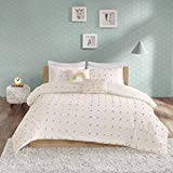 Urban Habitat Kids LAF02-0238 Callie Cotton Jacquard Pom Comforter Set Multi Full/Queen