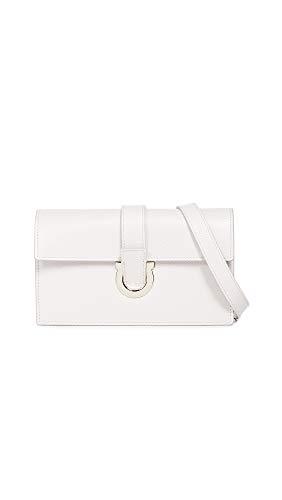 - Salvatore Ferragamo Women's Mini Thalia Wallet, Jasmine Flower, Off White, One Size
