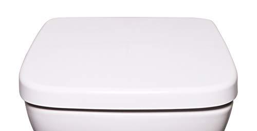 WC-Sitz Bullseat 6.1 mit Absenkautomatik eckig