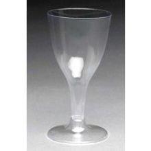 Royal Plasticware Elite Stemware Clear Wine Glass, 8 Ounce - 20 per pack - 12 packs per (Royal Stemware)
