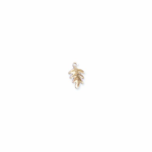 Oak Leaf Beads Charms - 1