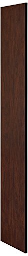 Panel Access Side (Salsbury Industries 30033MAH 18-Inch Deep Side Panel for Open Access Designer Locker and Designer Gear Locker without Sloping Hood, Mahogany Brown)