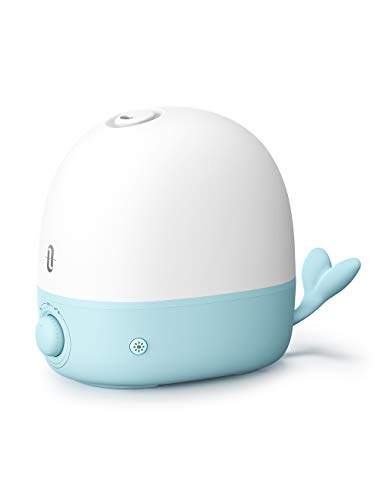 TaoTronics Humidifiers for Babies, 2.5L BPA-Free Humidifiers for Bedroom Cool Mist Humidifier for Baby, Essential Oil Diffuser with Night Light, Easy to Clean and Waterless Auto Shut-off