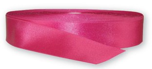 Earth Satin Ribbon Fuchsia 2'' Double Faced Polyester Decorating Ribbon by Of The Earth