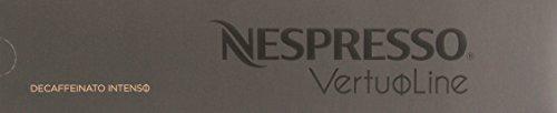 10 Capsules Nespresso VertuoLine Decaffeinato Intenso - Nespresso Intense Decaf