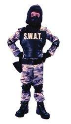 S W A T Child Costume - Medium