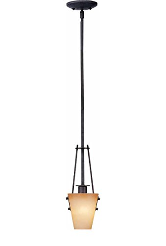 Volume Lighting Lodge 1-Light Frontier Iron Mini-Pendant ()