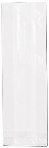 NatureFlex TM Biodegradable Clear Cello Bags (1000 Bags) - BOWS-69-07D by Miller Supply Inc