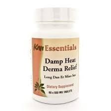 Damp Heat Derma Relief (Vet) 60 Tablets by Kan Herbs - Es...