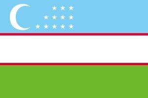 【在庫限り】 世界の国旗 ウズベキスタン 高級テトロン製] 国旗 [100×150cm 高級テトロン製] [100×150cm 国旗 B0090ZZ5OM, モバックス梅田店:57ace8e9 --- vietnox.com