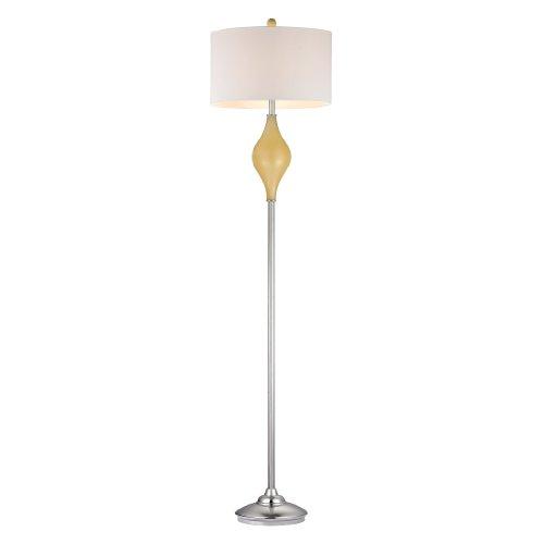 Dimond Lighting D2502 Chester Glass Floor Lamp, Sunshine Yellow from Dimond Lighting