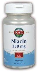KAL Никотиновая кислота 250 мг 100 карат