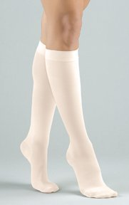 8f60fb06e6 Image Unavailable. Image not available for. Color: Activa Women's Ribbed  Dress Socks 20-30 Mmhg ...