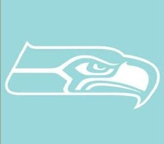 WinCraft NFL Seattle Seahawks WCR25660061 Perfect Cut Decals, 8