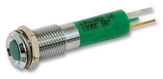 LED INDICATOR, 12V, GREEN 19010251 By CML INNOVATIVE TECHNOLOGIES