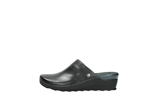 Leather 02575 Black nbsp;Go comodidad Wolky 20000 wOqvXx7