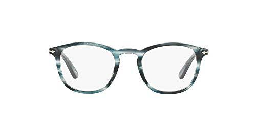 Persol Men's Po3143v Rectangular Prescription Eyewear Frames