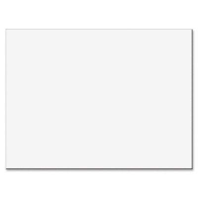 Pacon Tru-Ray Construction Paper, 76 lb, 18 x 24, White, 50 Sheets/PK (103090)