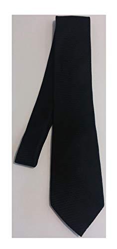 - Stafford Black Silk Necktie