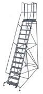 product image for Cotterman 1514R2642A3E30B4W5C1P3 - Rolling Ladder Steel 182In. H. Gray