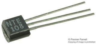NTE108/-/Bipolar 50 mA RF Transistor 625 mW 600 MHz 20 hFE 1 piece 15 V NPN