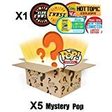 - POP Funko Mystery 6 Pack w/ 1 Random Limited Edition Chase - Stylized Vinyl Figure Set New