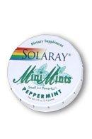 Solaray Mini Mints Cinnamon Tablets, 0.5 Ounce
